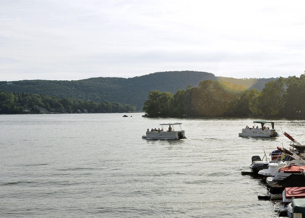Tick off a few of New England's best sights like Lake Candlewood.
