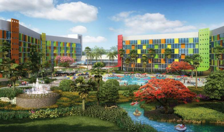 Rendering of Cabana Bay Beach Resort