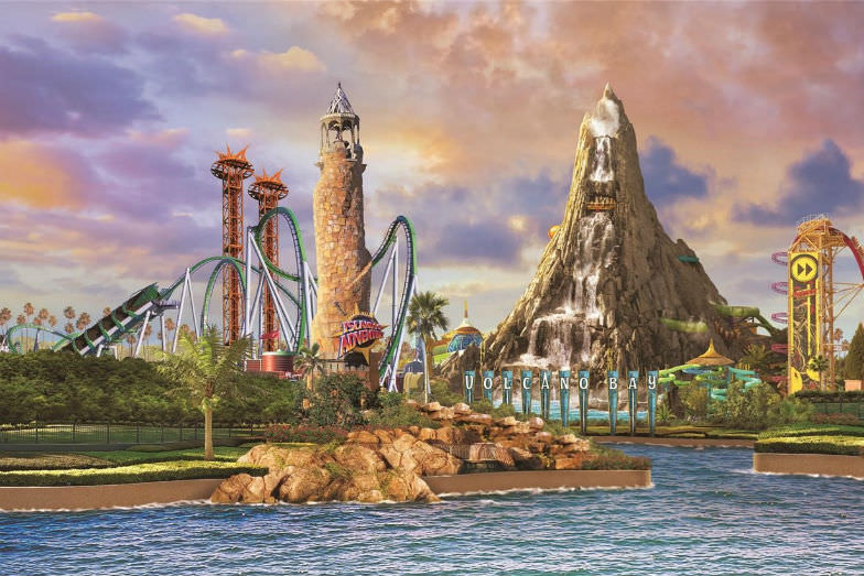 Universal's Volcano Bay is one of the new at Universal Orlando attractions to look forward to in 2017.