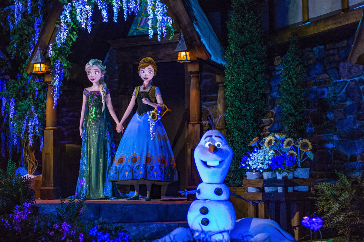 Frozen Ever After in the Norway Pavilion at Epcot is on of the new at Disney World attractions to check out this 2017.