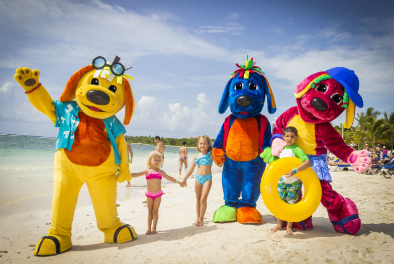 Hanging out with the Raggs squad is just one of Grand Palladium White Sand Resort & Spa's many kid-friendly offerings.