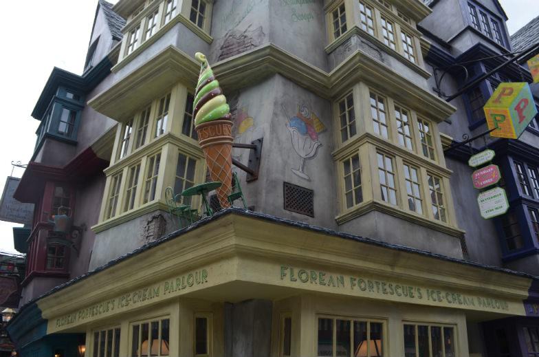 Florean Fortescue's Ice-Cream Parlour in Diagon Alley