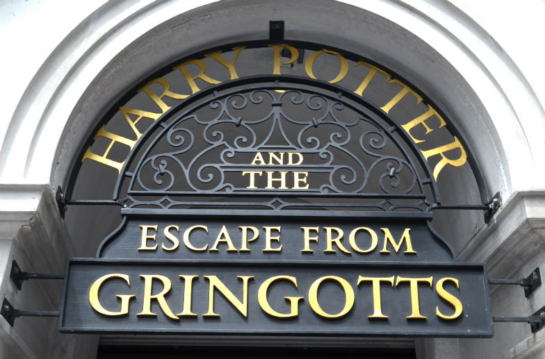 Wizarding World of Harry Potter's Escape from Gringotts