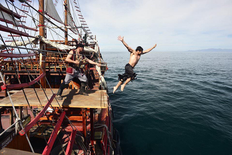 Pirate Ship Puerto Vallarta