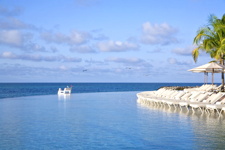 Infinity pool at Grand Lucayan