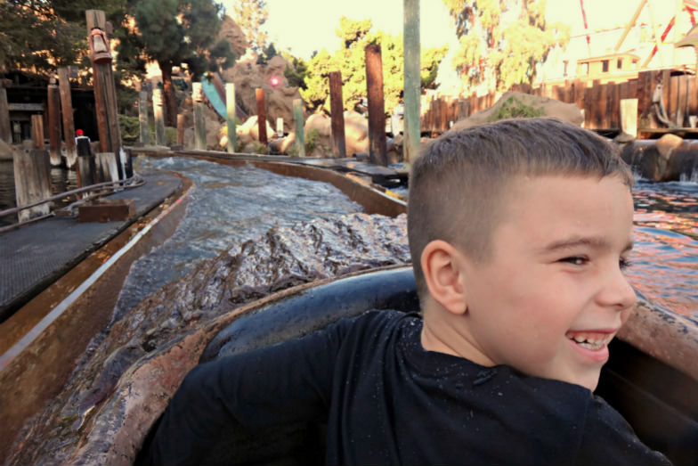 Timber Mountain Log Ride at the Knott's Berry Farm